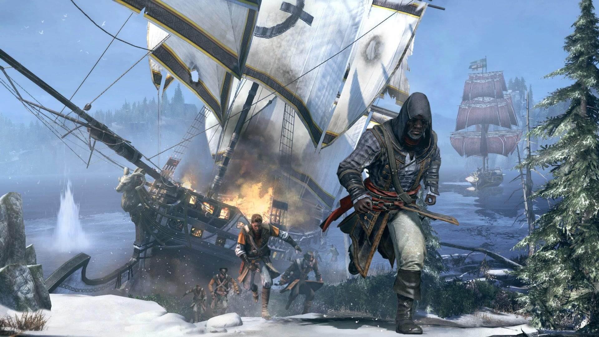 Скачать Assassin s Creed: Rogue (2 15) PC через