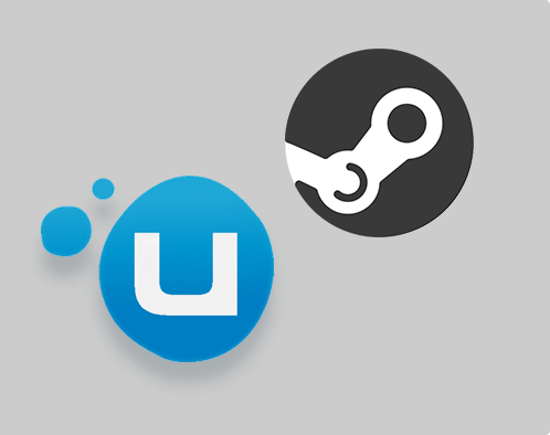 Play games from your STEAM, uPlay catalogue